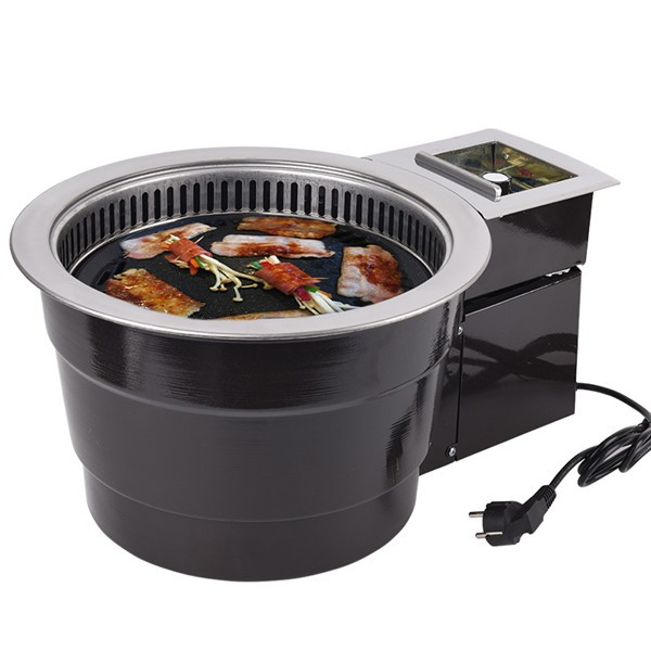 Smokeless Korean Charcoal Bbq Grill Tabletop