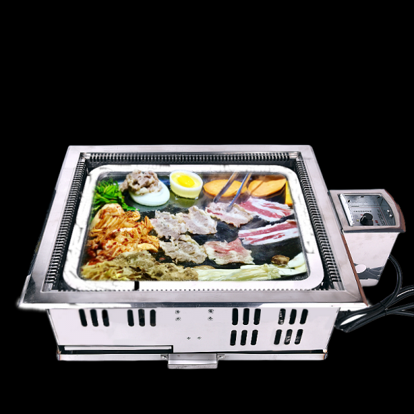 Korean Marble Slate Electric Bbq Grill