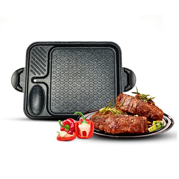 Korean Style Electric Bbq Grill Pan