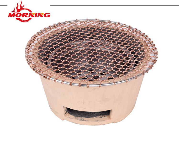 Copper Barbecue Grill Wire Mesh