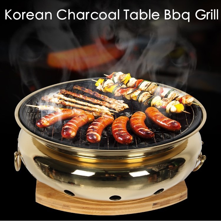 Korean Charcoal Bbq Grill Table