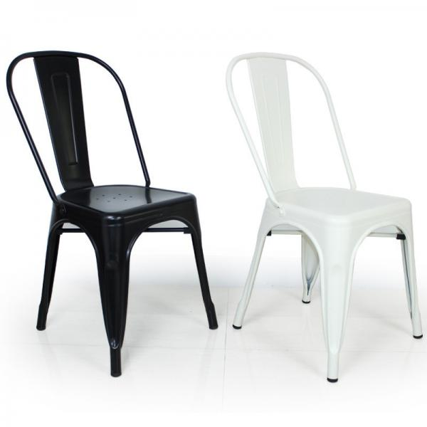 High quality modern restaurant iron chairs for restaurant